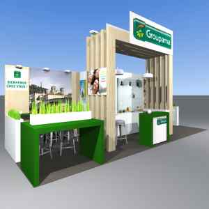 Stand Groupama VAC conception